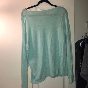 J. Crew Factory Sweaters - EUC J. Crew Factory Aqua Blue Sweater